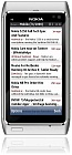 Google Reader List Of Posts in Gravity in a Nokia N8